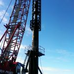 Steel Piling Installation Diesel Hammer
