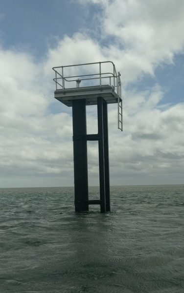 Tide Monitoring Station Piles